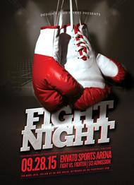 Design Cloud: Boxing MMA Flyer Template