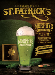 Design Cloud: St. Patricks Day Event Flyer Template